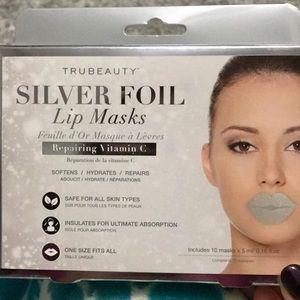 Other - Silver foil lip masks